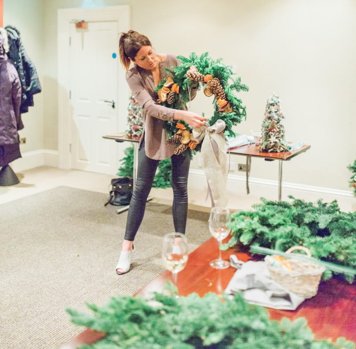 Wreath making course in Jesmond - Newcastle