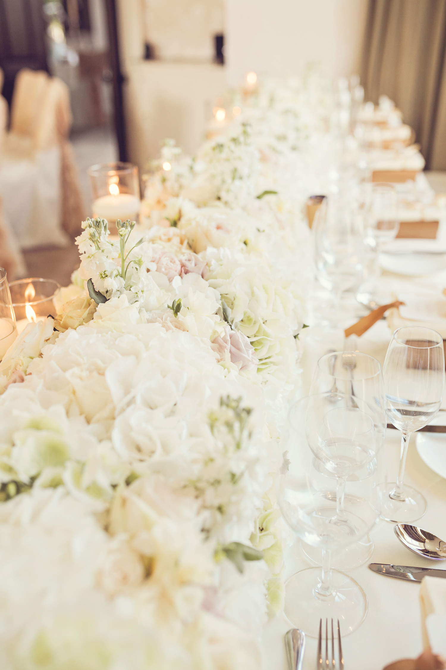 Wedding Flowers Tablescape Top Table 5