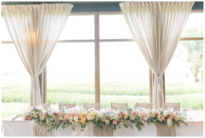 Wedding Flowers Tablescape Top Table Flowers 10 Belsflowers