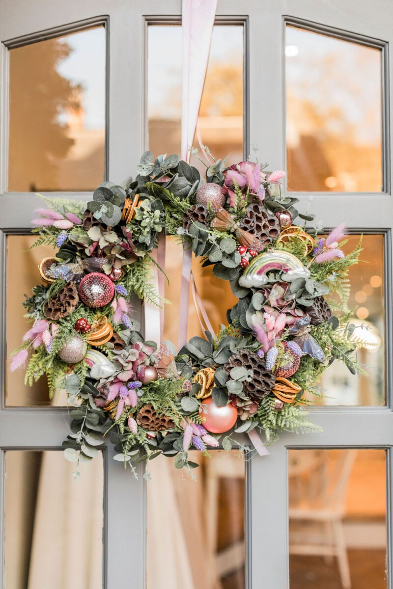 home styling wreath
